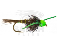 BH-I-Bug w. Green Rubberlegs