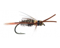 Prince Nymph-Double Bead w. Brown Rubberlegs