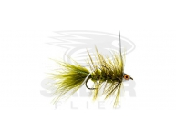 CH-Eye Wooly Bugger Olive w. White Rubberlegs