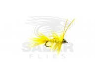 CH-Eye Wooly Bugger-TDF Yellow w. Yellow Rubberlegs