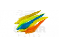 Dyed Schlappen - Hand selected large feathers