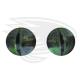 light green frog eye