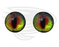 Red frog eye