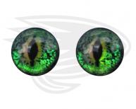 Green frog eye