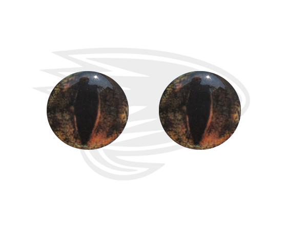 Brown frog eye