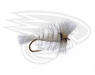WHITE-White Tail-Badger Hackle