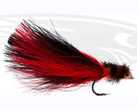 Tarpon Toad Rat-Red & Black