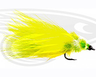 Tarpon Toad-Chartreuse & White
