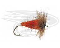 BURNED ORANGE-White Tail-Brown Hackle