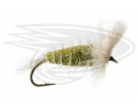 LIGHT OLIVE-White Tail-White Hackle