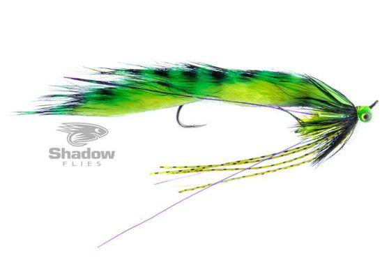 Zonker Leech-Chartreuse Tiger Stripe