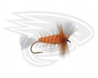 ORANGE-White Tail-Brown Hackle