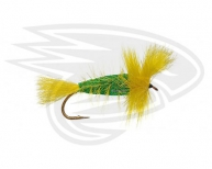 EMERALD GREEN-Yellow Tail-Yellow Hackle